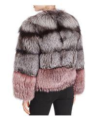 Maximilian - Multicolor X Michael Kors Nafa Fox Fur Jacket - Lyst