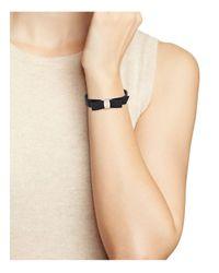 Ferragamo - Multicolor Leather Vara Single Wrap Bracelet - Lyst