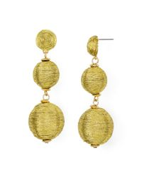 BaubleBar | Metallic Crispin Drop Earrings | Lyst