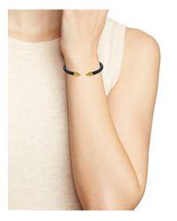 Vita Fede - Black Mini Titan Two-tone Bracelet - Lyst