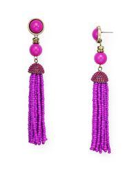 BaubleBar | Multicolor Artemis Tassel Drop Earrings | Lyst