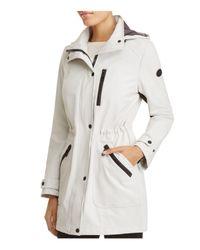 Calvin Klein | Multicolor Hooded Raincoat | Lyst