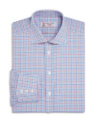 Turnbull & Asser | Blue Multi Color Grid Check Classic Fit Dress Shirt for Men | Lyst