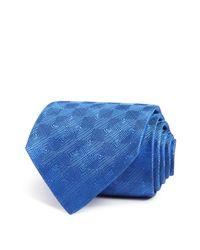 Turnbull & Asser | Blue Diamond Illusion Classic Tie for Men | Lyst