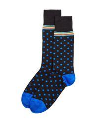 Paul Smith | Black Signature Polka Dot Dress Socks for Men | Lyst