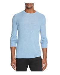 Rag & Bone | Blue Gregory Merino Wool Blend Sweater for Men | Lyst