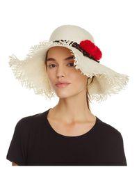 Helene Berman | Natural Floppy Sun Hat | Lyst