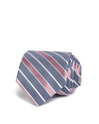 W.r.k. | Blue Wide Stripe Classic Tie for Men | Lyst
