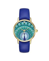 Kate Spade - Blue 34mm - Lyst