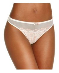 B.tempt'd | Natural B.sultry Thong #942261 | Lyst