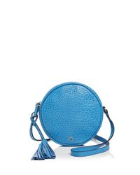 Etienne Aigner | Multicolor Canteen Pebbled Leather Crossbody | Lyst