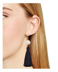Kate Spade - Multicolor Tassel Drop Earrings - Lyst