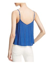 Free People | Blue Bb Embellished Camisole | Lyst