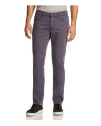 J Brand   Purple Kane Slim Straight Fit Pants for Men   Lyst