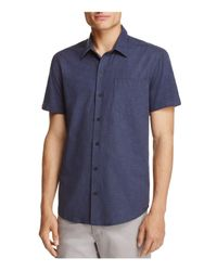 W.r.k. | Blue Reworked Dot Regular Fit Button-down Shirt for Men | Lyst