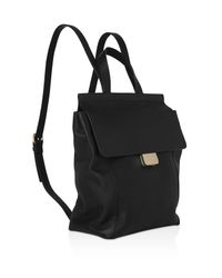 Whistles - Black Pimlico Press Lock Leather Backpack - Lyst