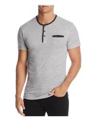 Alternative Apparel | Gray Offshore Henley Shirt for Men | Lyst