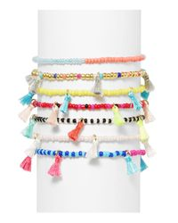 BaubleBar - Multicolor Set Of 7 - Lyst