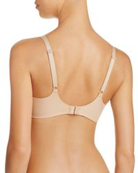 Calvin Klein - Natural Invisibles Balconette Bra - Lyst