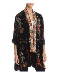 Johnny Was | Black Kehlani Reversible Kimono Jacket | Lyst