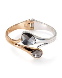 Robert Lee Morris - Multicolor Two-tone Bypass Hinge Cuff - Lyst
