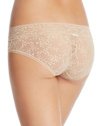 Calvin Klein - Natural Bare Lace Hipster Qd3597 - Lyst