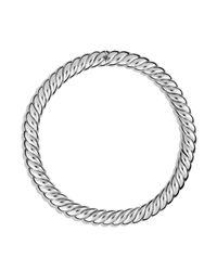 David Yurman - Metallic Hampton Cable Necklace - Lyst