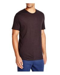 T By Alexander Wang - Black Classic Short Sleeve Tee for Men - Lyst
