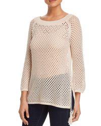 Love Scarlett - Multicolor Open-knit Sweater - Lyst