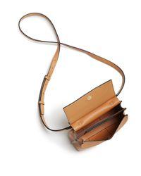 Tory Burch - Blue Block-t Mini Leather Satchel - Lyst