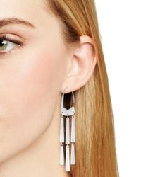 Kendra Scott - Metallic Mallie Link Drop Earrings - Lyst