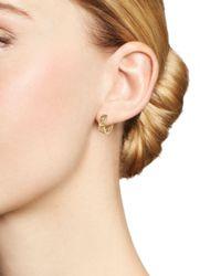 Dana Rebecca - Metallic Kathryn Lynn Huggie Hoop Earrings - Lyst