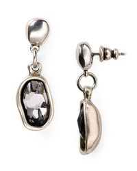 Uno De 50 - Metallic On Tiptoes Crystal Earrings - Lyst