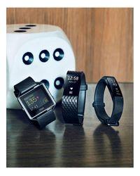 Fitbit - Black Alta Wireless Fitness Tracker - Lyst