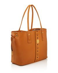 MCM - Multicolor Project Reversible Leather Tote - Lyst