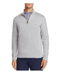Vineyard Vines - Gray Quarter-zip Sweater for Men - Lyst