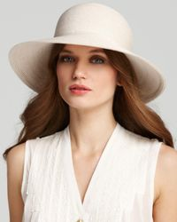 Eric Javits - Natural Packable Squishee Iv Short Brim Sun Hat - Lyst
