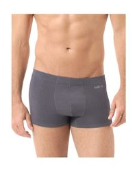 Naked - Gray Luxury Stretch Micromodal Trunks for Men - Lyst