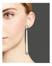 Ippolita - Metallic Glamazon® Sterling Silver Elongated Tear Drop Earrings - Lyst
