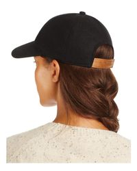 august hat company | Black Solid Baseball Cap | Lyst