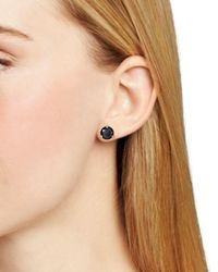 Kate Spade - Black Rise And Shine Stud Earrings - Lyst