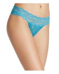 B.tempt'd - Blue Lace Kiss Bikini - Lyst