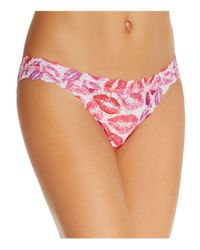 Hanky Panky - Pink Brazilian Bikini - Lyst