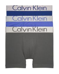 CALVIN KLEIN 205W39NYC - Blue Pack Of 3 for Men - Lyst