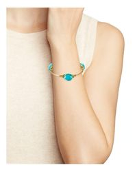 Bourbon and Boweties - Multicolor Wire-wrapped Bangle - Lyst