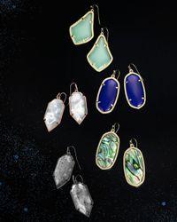 Kendra Scott Green Alex Drop Earrings