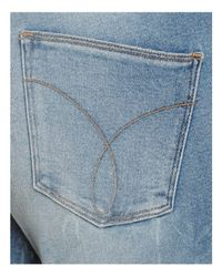 CALVIN KLEIN 205W39NYC - Blue Jeans High-rise Skinny Jeans In Joy Ride - Lyst