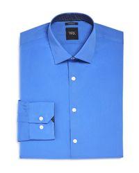 W.r.k. | Blue French Solid Stretch Slim Fit Dress Shirt for Men | Lyst