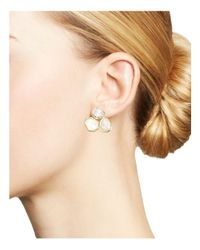 Ippolita - White 18k Gold Rock Candy® Mixed Stone Cluster Earrings In Flirt - Lyst