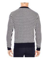 Sandro - White Glasgow Sweater for Men - Lyst
